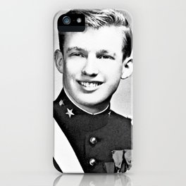 Donald Trump - 1964 New York Military Academy iPhone Case