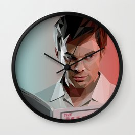 Low Poly Dexter Wall Clock
