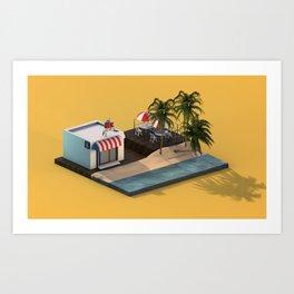 Mike Cream Art Print