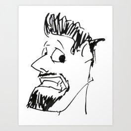 Drew Props Logo Art Print