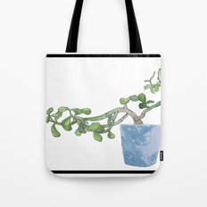 Plants are the best people Tote Bag