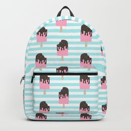 ice cream bar stripes food fight apparel and gifts Backpack