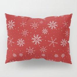 New Year Christmas winter holidays cute pattern Pillow Sham