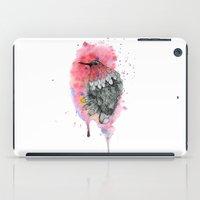 hummingbird iPad Cases featuring Hummingbird by Wood + Ink
