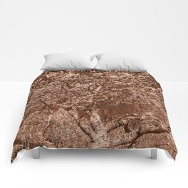 Wooden Cherry Blossom Impressions Comforters