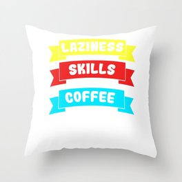 Awesome Expert Tshirt Design Expert in any field Throw Pillow