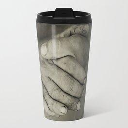 manos trabajadoras Travel Mug