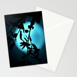 Heavenly Vines in Teal Stationery Cards