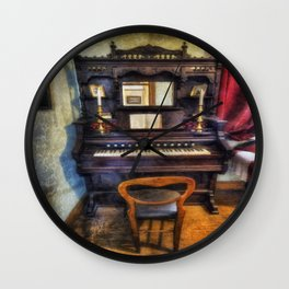 Love Is Called My Old Piano Wall Clock
