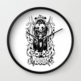 Fury awakened Wall Clock