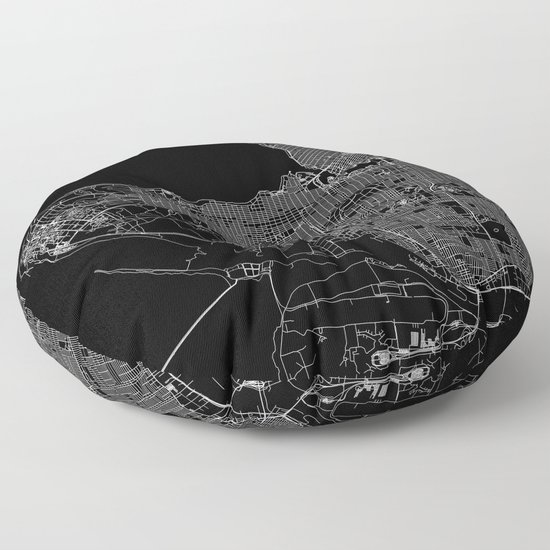Vancouver Black Map by multiplicity