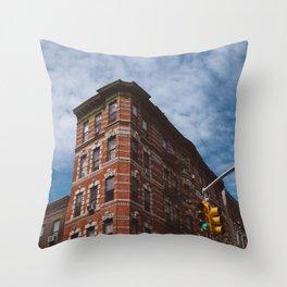 NoLita Architecture Throw Pillow