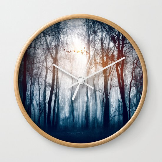 Morning Colours Wall Clock