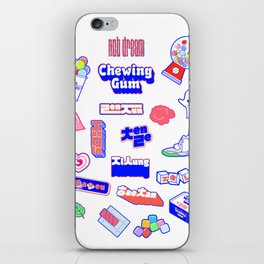 NCT DREAM CHEWING GUM iPhone Skin