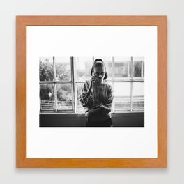 Knowing the name of the game Framed Art Print