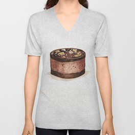 Chocolate Mousse Unisex V-Neck