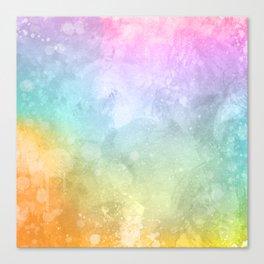 Summer Evening Pattern Canvas Print