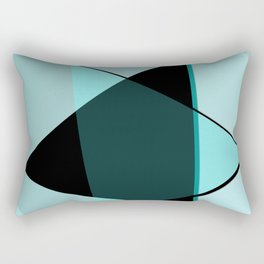 Oh blacky blue ... Rectangular Pillow