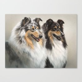 Regal Pair Canvas Print