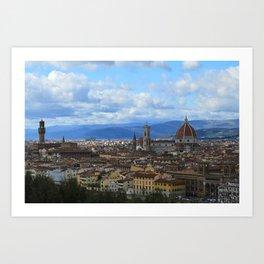 Florence Firenze Art Print
