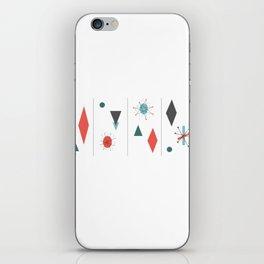 Mid Century Modern Design iPhone Skin