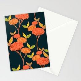 Orange autumn berries. Stationery Cards