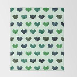 Cute Hearts VI Throw Blanket