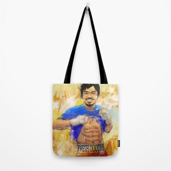 Manny Pacquiao - Pound 4 Pound Tote Bag
