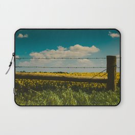 Fence Line Laptop Sleeve