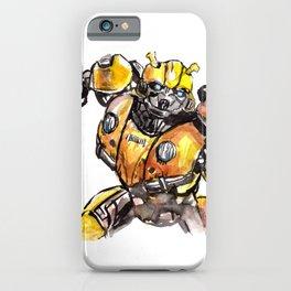 Robot Humble-Bee iPhone Case