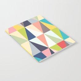 Abstract Geo Diamonds Notebook
