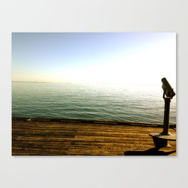 what can you sea? Canvas Print