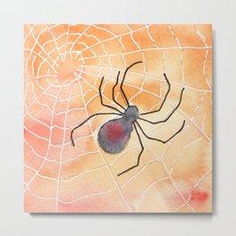 Halloween Spider 2016 Metal Print
