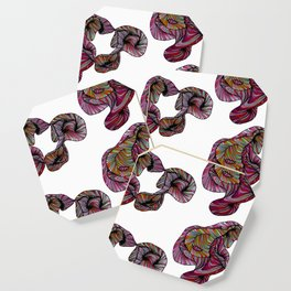 abstract poof Coaster