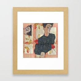 Persian mix: Egon Schiele Framed Art Print