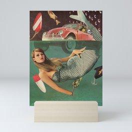 Mechanic Mermaid    Mini Art Print