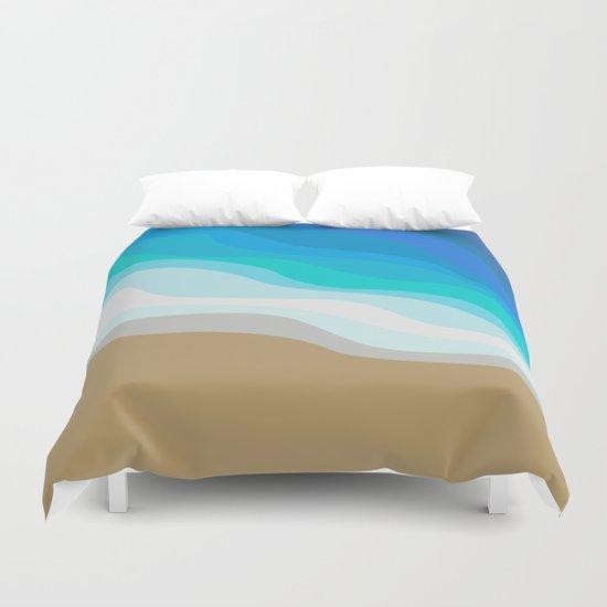 Gold Sand Duvet Cover