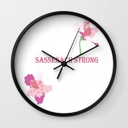 Sassenach Strong Wall Clock
