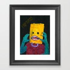 Fantômas Framed Art Print