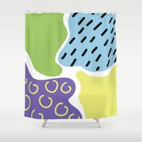 sad Shower Curtains featuring Sad by bakuta