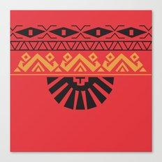 American Native Pattern No. 129 Canvas Print