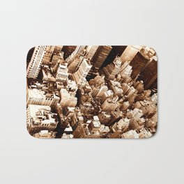 NYC - Big Apple from Empire  Bath Mat