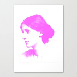 pink woolf Canvas Print