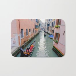 Charming Venice Italy Canals Bath Mat