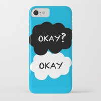 okay iPhone & iPod Cases featuring Okay by Hoeroine