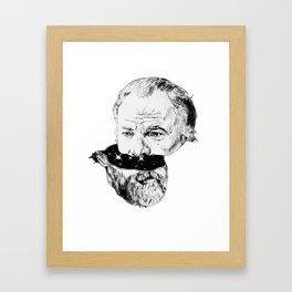 Half K Dick Framed Art Print