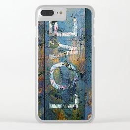 Rough Love Clear iPhone Case