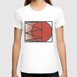 Japan rainbow on the sky of Uranus T-shirt