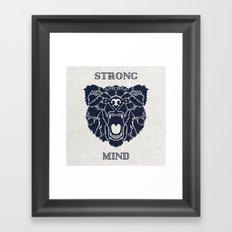Strong Mind Framed Art Print