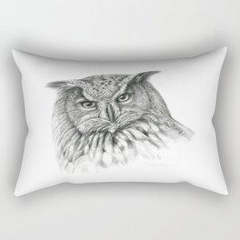 Owl (G2-011)  bubo bubo  Rectangular Pillow